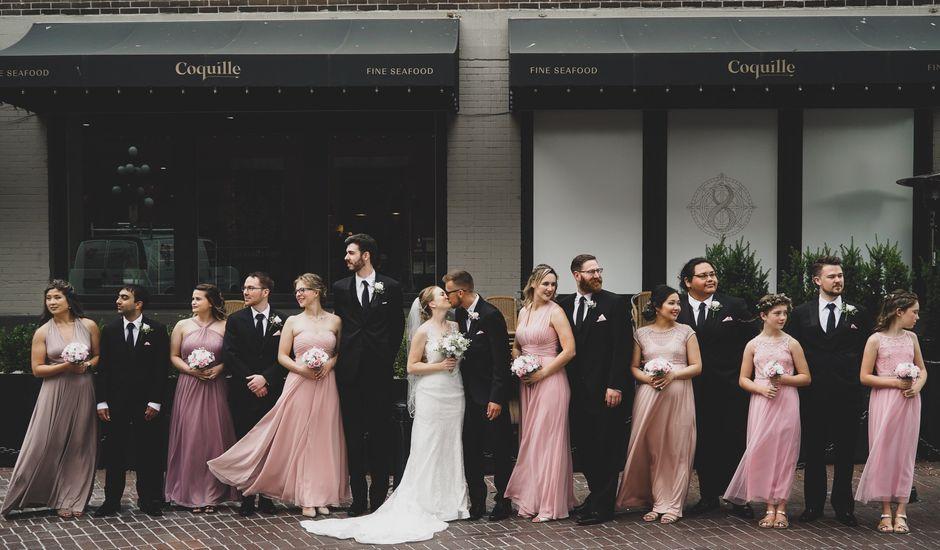 Tyler and Katherine's wedding in Vancouver, British Columbia