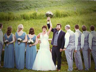 The wedding of Michael and Katrina