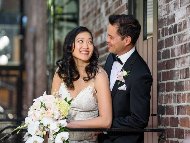 The wedding of Lilian and Kevin