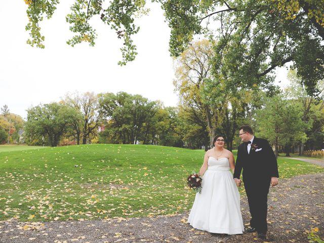 The wedding of Tyra and Ryan