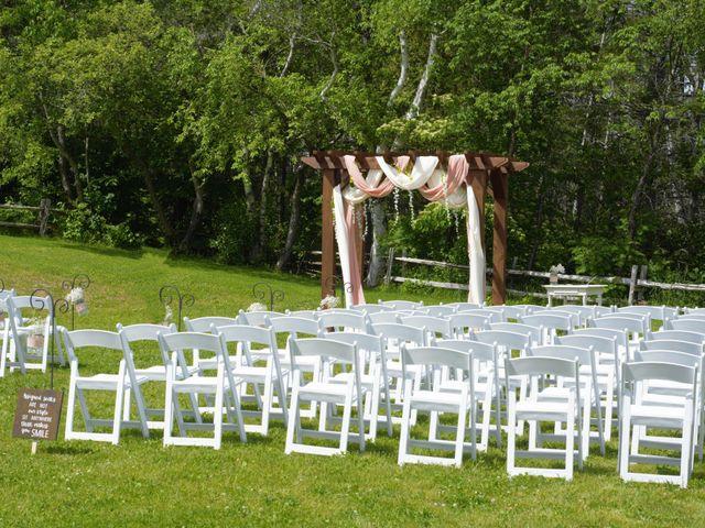 Katrina and Michael's wedding in Upper Kingsclear, New Brunswick 3