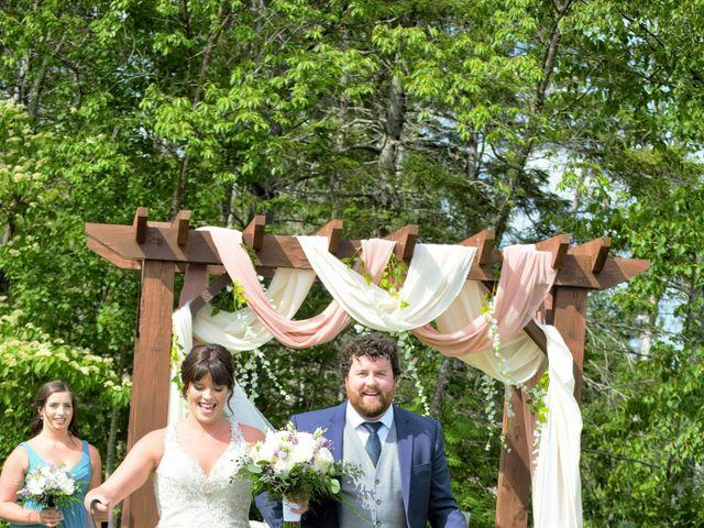 Katrina and Michael's wedding in Upper Kingsclear, New Brunswick 4