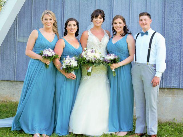 Katrina and Michael's wedding in Upper Kingsclear, New Brunswick 6