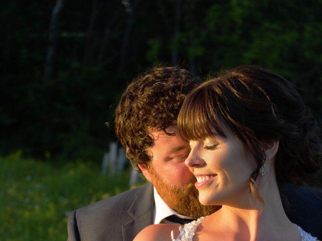 Katrina and Michael's wedding in Upper Kingsclear, New Brunswick 7