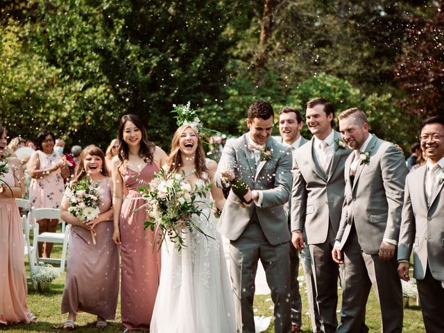 Peter and Caitlin's wedding in Maple Ridge, British Columbia 1
