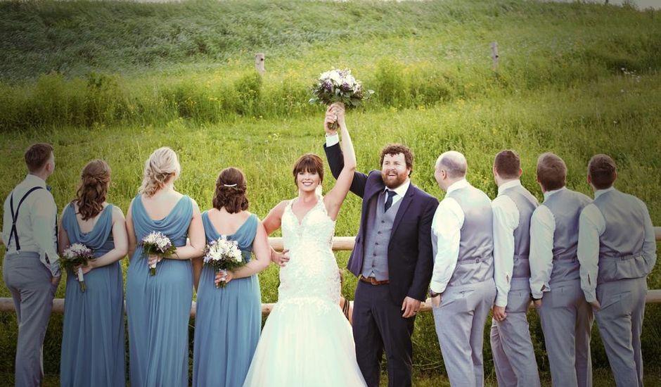 Katrina and Michael's wedding in Upper Kingsclear, New Brunswick