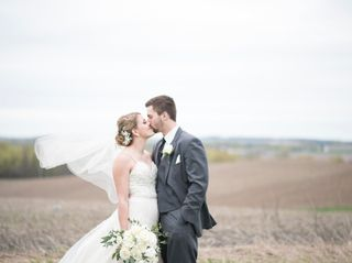 The wedding of Emma and David