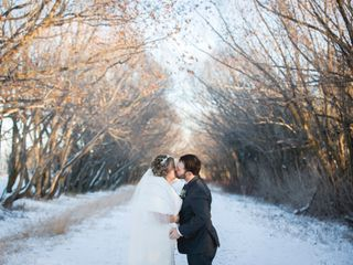 The wedding of Calista and Matt