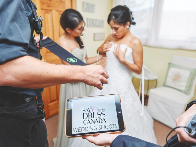Mike and Diana's wedding in Kleinburg, Ontario 16