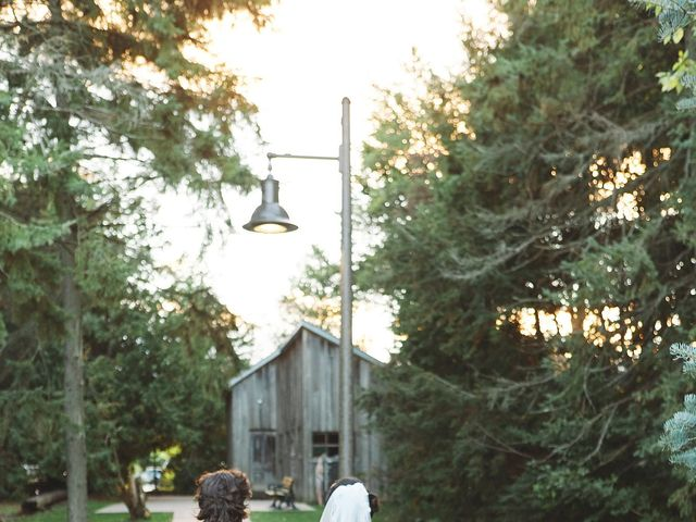 Mike and Diana's wedding in Kleinburg, Ontario 41