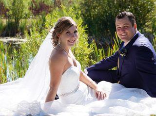 The wedding of Jessica and Darci