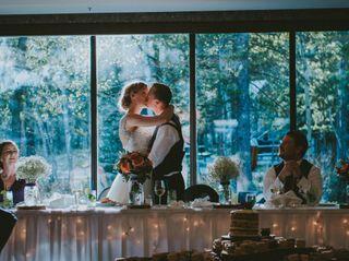 The wedding of Melanie and Wayne
