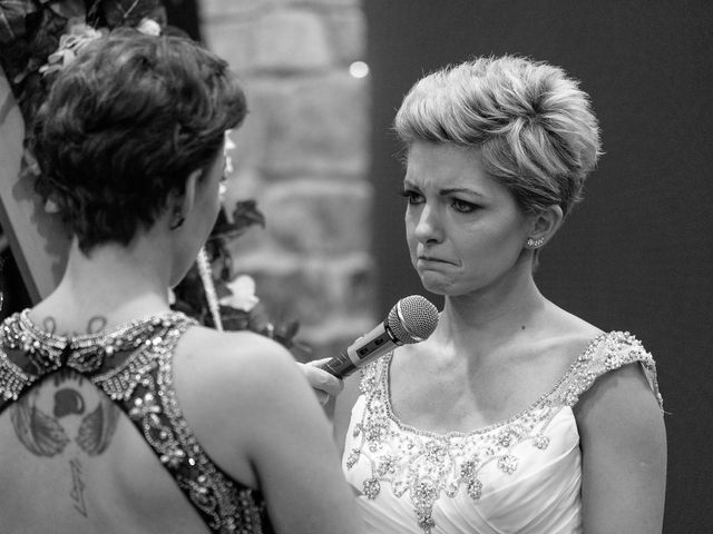 Jess and Lynsey's wedding in Calgary, Alberta 22