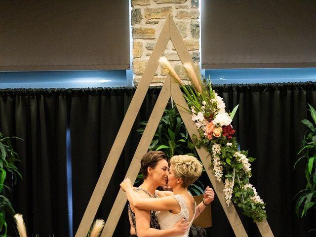 Jess and Lynsey's wedding in Calgary, Alberta 25