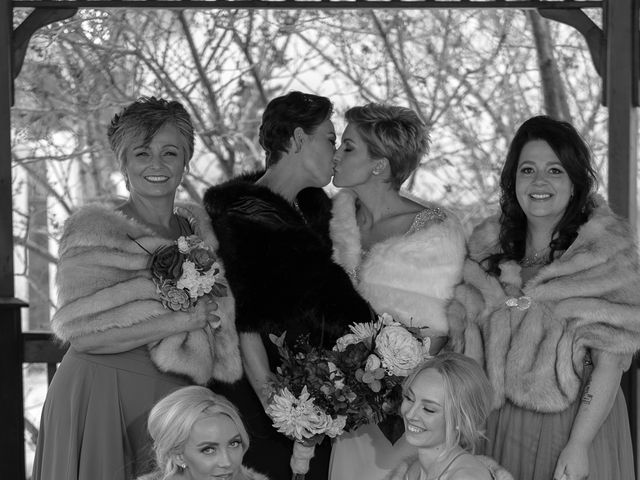 Jess and Lynsey's wedding in Calgary, Alberta 29
