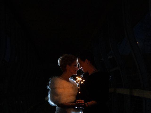 Jess and Lynsey's wedding in Calgary, Alberta 34