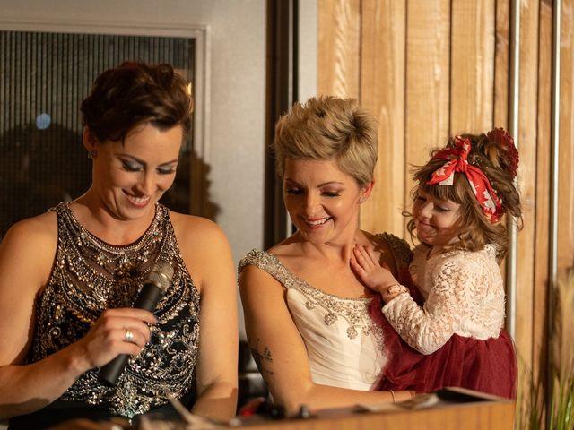Jess and Lynsey's wedding in Calgary, Alberta 42