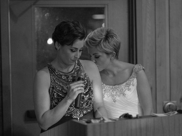 Jess and Lynsey's wedding in Calgary, Alberta 43