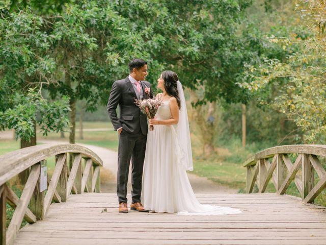 The wedding of Eliana and Chandra
