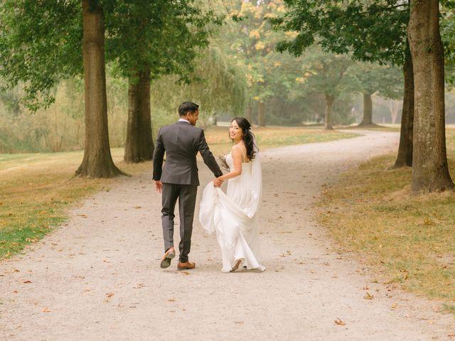 Chandra and Eliana's wedding in Vancouver, British Columbia 1