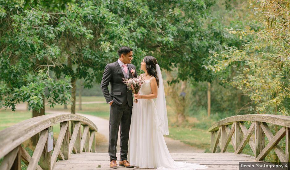 Chandra and Eliana's wedding in Vancouver, British Columbia