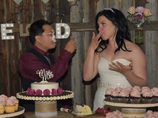 The wedding of Danielle and Elvis 3