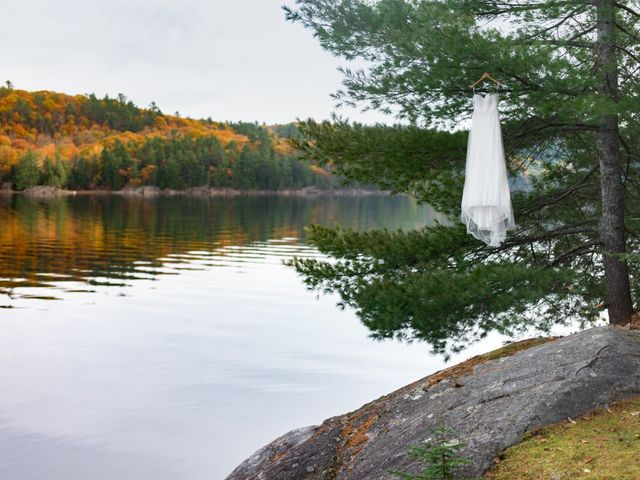 Jeff and Laura's wedding in Algonquin Highlands, Ontario 4