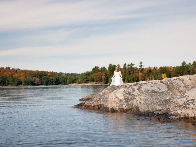 Jeff and Laura's wedding in Algonquin Highlands, Ontario 17