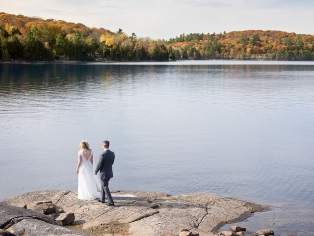 Jeff and Laura's wedding in Algonquin Highlands, Ontario 22