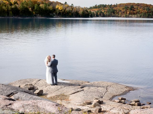 Jeff and Laura's wedding in Algonquin Highlands, Ontario 23