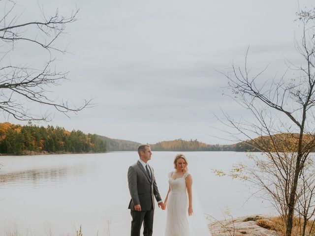 Jeff and Laura's wedding in Algonquin Highlands, Ontario 26