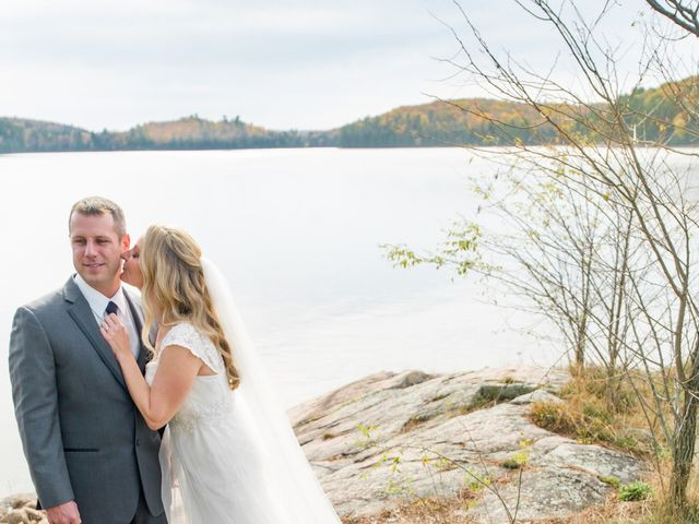 Jeff and Laura's wedding in Algonquin Highlands, Ontario 27