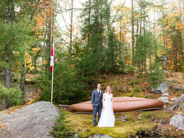 Jeff and Laura's wedding in Algonquin Highlands, Ontario 36