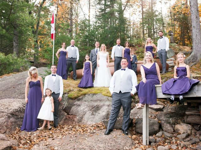 Jeff and Laura's wedding in Algonquin Highlands, Ontario 39