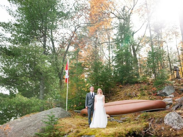 Jeff and Laura's wedding in Algonquin Highlands, Ontario 40