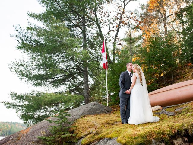 Jeff and Laura's wedding in Algonquin Highlands, Ontario 41