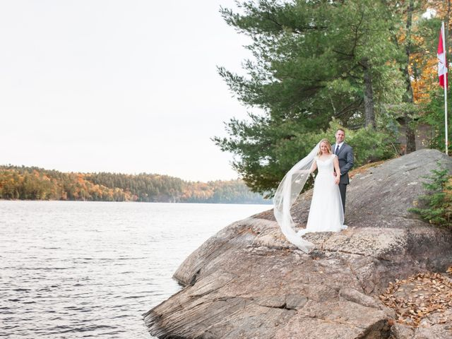 Jeff and Laura's wedding in Algonquin Highlands, Ontario 43