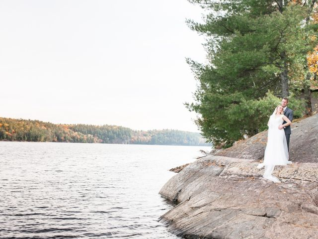 Jeff and Laura's wedding in Algonquin Highlands, Ontario 44