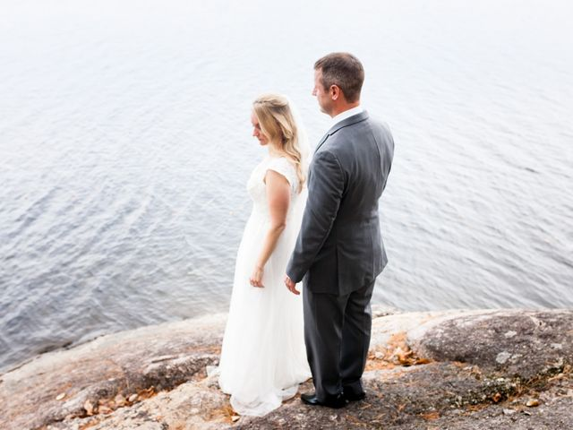 Jeff and Laura's wedding in Algonquin Highlands, Ontario 45