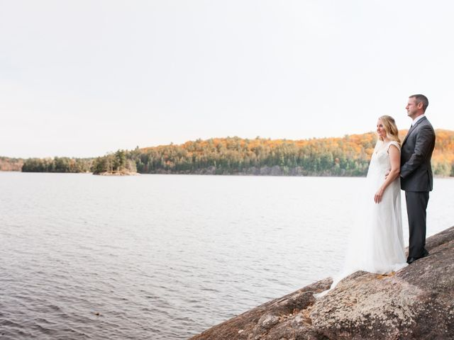 Jeff and Laura's wedding in Algonquin Highlands, Ontario 46