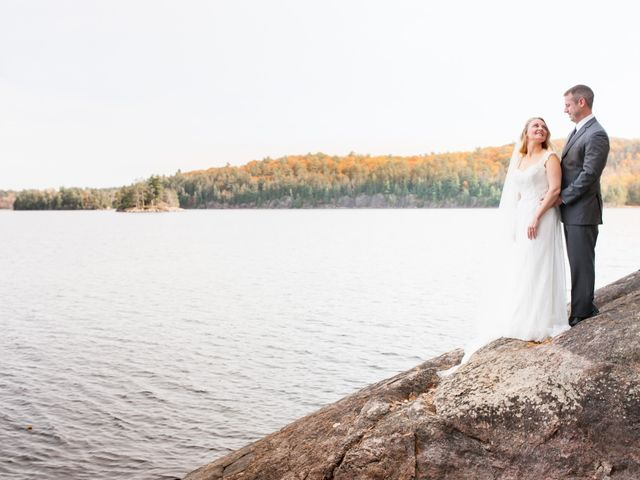 Jeff and Laura's wedding in Algonquin Highlands, Ontario 47