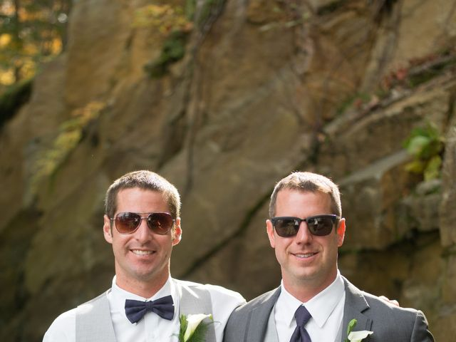 Jeff and Laura's wedding in Algonquin Highlands, Ontario 50