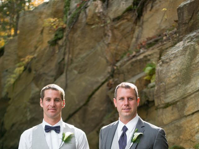 Jeff and Laura's wedding in Algonquin Highlands, Ontario 52