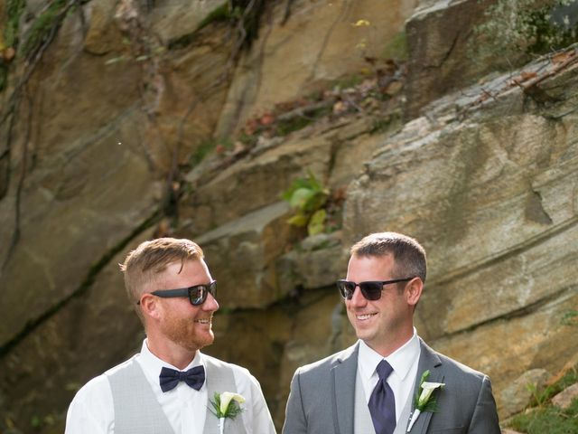 Jeff and Laura's wedding in Algonquin Highlands, Ontario 54
