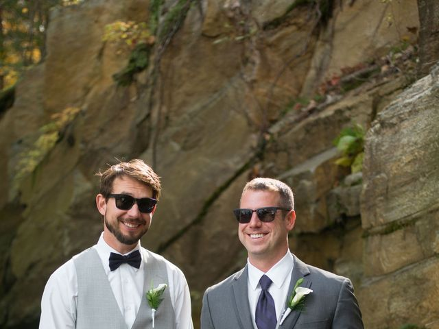 Jeff and Laura's wedding in Algonquin Highlands, Ontario 61