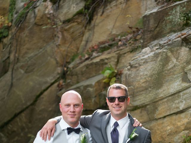 Jeff and Laura's wedding in Algonquin Highlands, Ontario 62