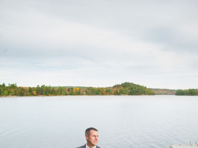 Jeff and Laura's wedding in Algonquin Highlands, Ontario 65