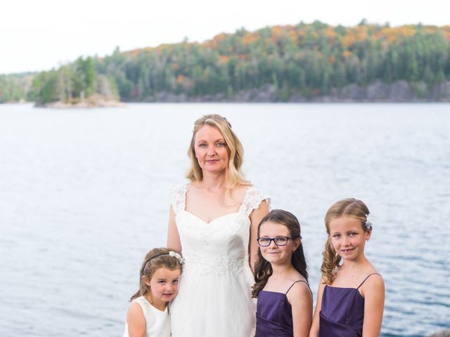 Jeff and Laura's wedding in Algonquin Highlands, Ontario 66