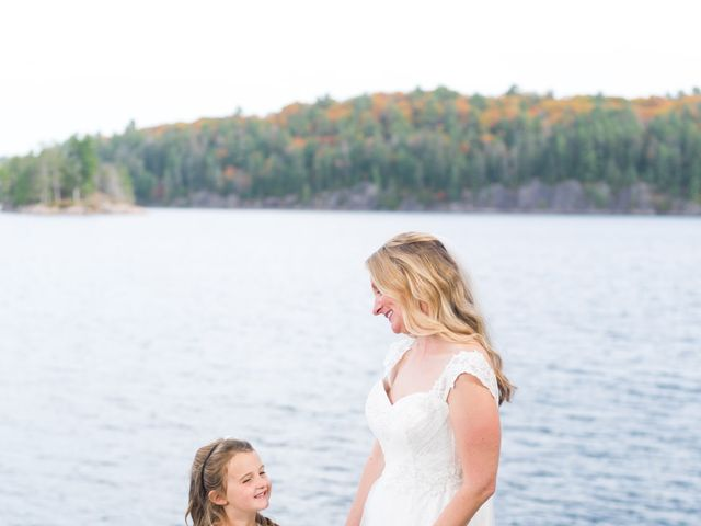 Jeff and Laura's wedding in Algonquin Highlands, Ontario 67