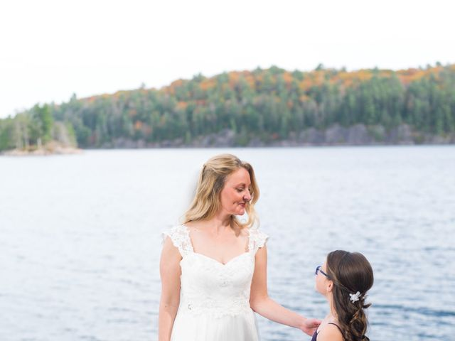 Jeff and Laura's wedding in Algonquin Highlands, Ontario 68